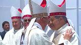A pápa kiállt a megvádolt püspök mellett