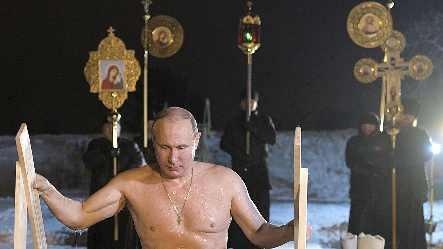 Epiphanie : Vladimir Poutine prend l'eau