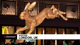 Londres brilla en su fiesta de las luces