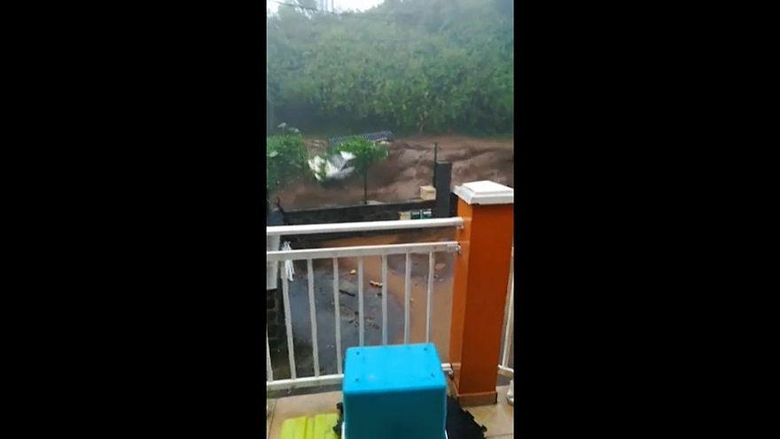 Berguitta fırtınası Reunion adasını vurdu