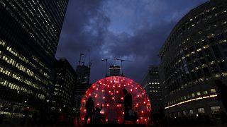 Λονδίνο: Εντυπωσιακή γιορτή των φώτων