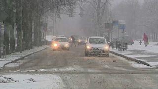 High winds wreak havoc across Europe