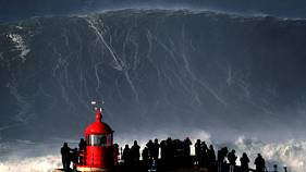 Biggest wave surfed: has Hugo Vau set a new world record in Portugal?