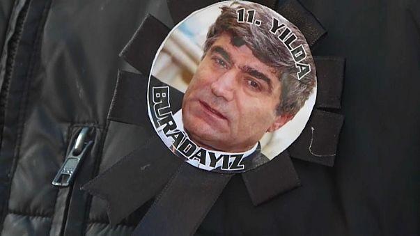 Hrant Dink ölümünün 11. yılında anıldı