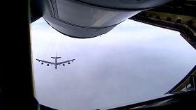 NATO savaş uçaklarından Avrupa'da tatbikat