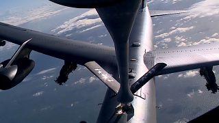 Учения НАТО над Северным морем