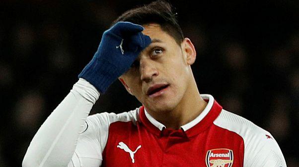 Alexis Sanchez de saída do Arsenal a caminho de Manchester