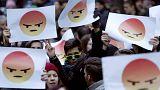 Több ezren tüntettek Budapesten