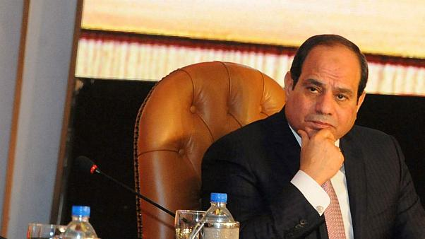 عبدالفتاح سیسی رئیس جمهوری مصر