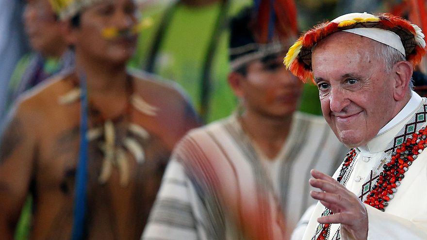 Le pape François au chevet des indiens d'Amazonie