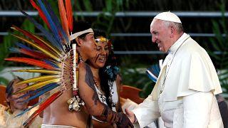 Папа Франциск заступился за коренных жителей Амазонии