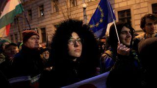 Mobilisation des étudiants en Hongrie