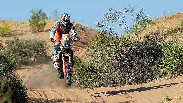 Rallye Dakar: Matthias Walkner vor Gesamtsieg
