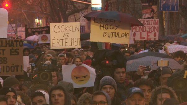Rebelión en las aulas húngaras