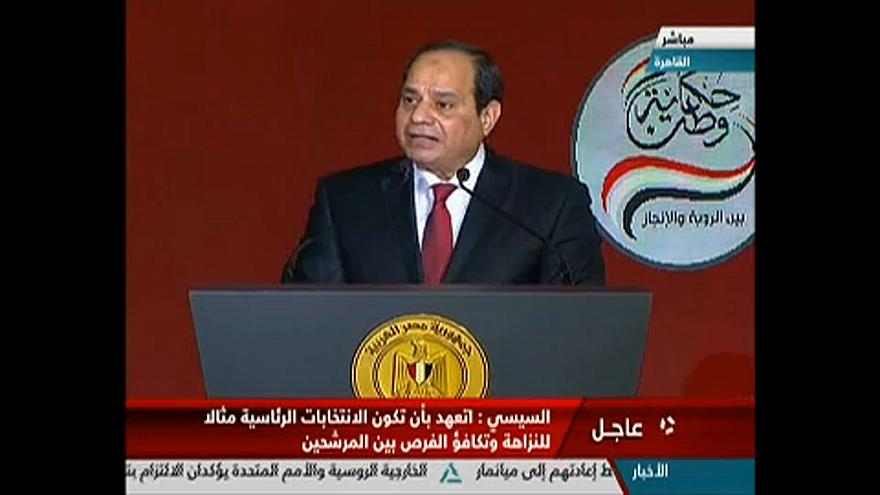 Újraindul az elnöki székért Egyiptom államfője