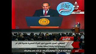 Al Sisi buscará la reelección como presidente de Egipto