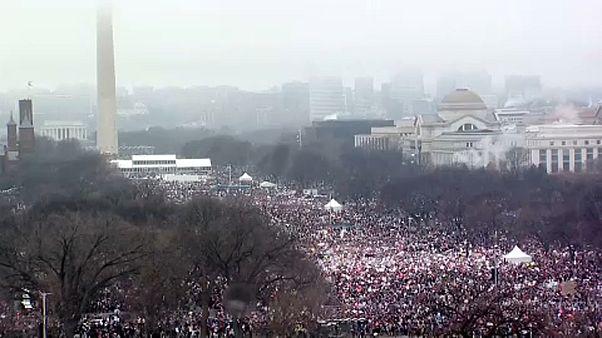 A női tüntetésekről szól ez a hétvége Amerikában