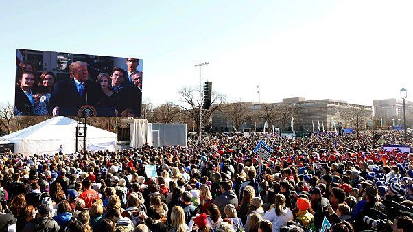 Στο πλευρό του κινήματος κατά των εκτρώσεων ο Τραμπ