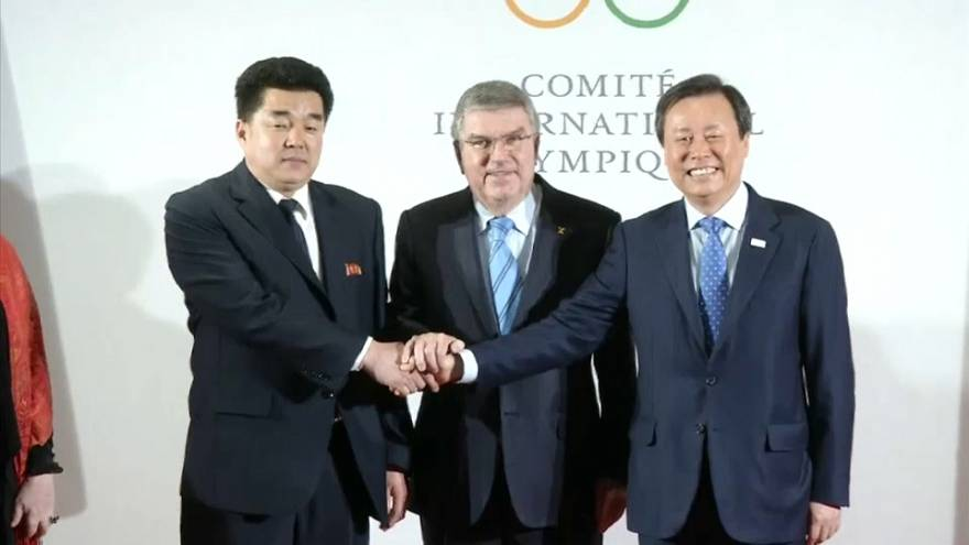 Решение МОК об участии КНДР в Олимпиаде