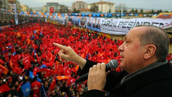 Turkish President Erdogan says a ground operation has begun in Syria's Afrin region