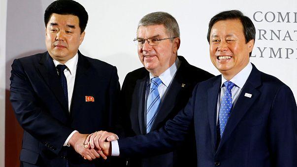 Un sommet olympique pour les deux Corées