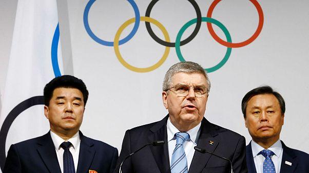 Kuzey ve Güney Kore PyeongChang'a birlikte katılacak