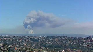 Fékezhetetlenül lángol a bozót Ausztráliában