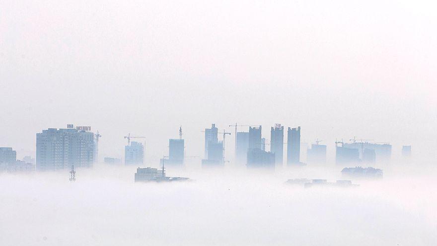 Çin'in doğusunda yoğun sis
