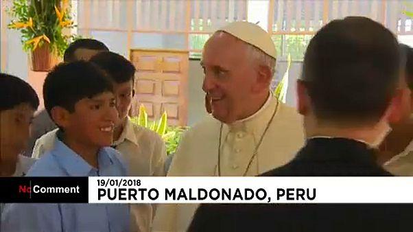 Ferenc pápa: Amazónia a szívügyem