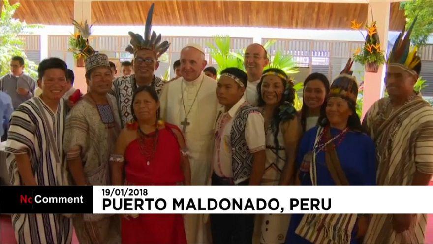 Papst Franziskus beklagt Misstände am Amazonas