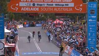 تور دوچرخه سواری داون آندر؛ داریل ایمپی پیراهن زرد صدرنشین را از آن خود کرد