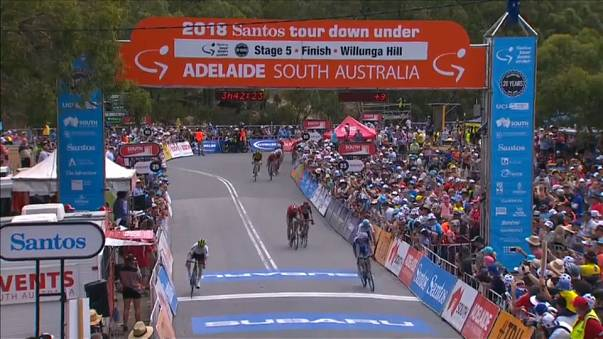 Cycling: Tour down under- stage 5