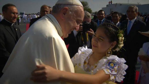 Папа Римский в Перу