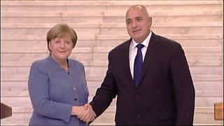 Angela Merkel is bolstered by unity message on Bulgaria visit
