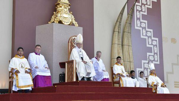 Στο πλευρό των πλημμυροπαθών του Περού ο Πάπας Φραγκίσκος