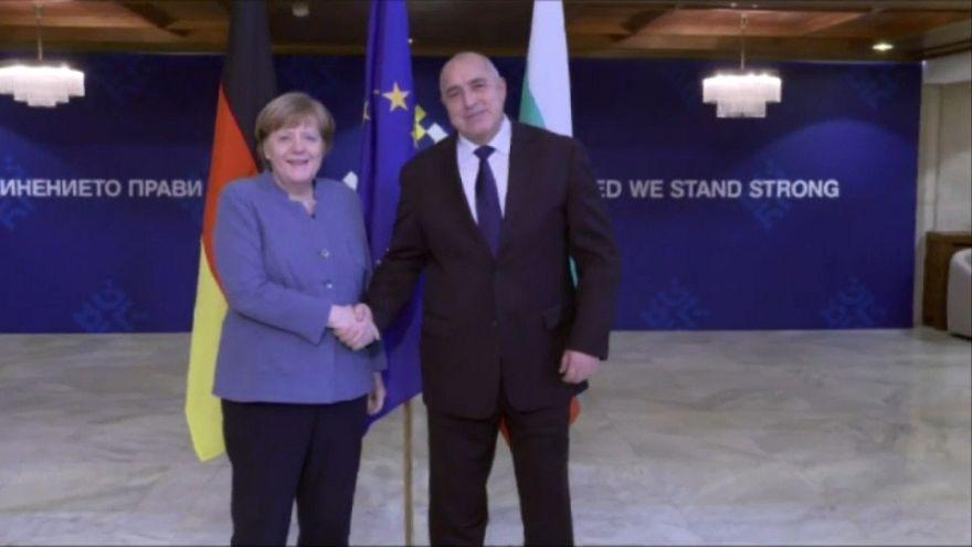 Merkel dankt Bulgarien für Außengrenzschutz