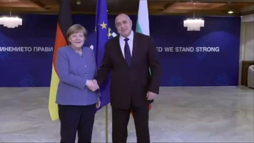 Merkel Bulgáriában