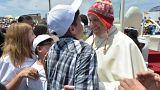 Papa relembra tragédias do 'El Niño' em Trujillo