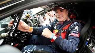 Carlos Sainz triunfa no Dakar