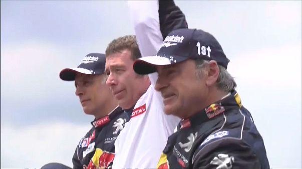 Sainz wins Dakar rally