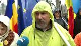 Romanian walks 450km to join Bucharest anti-corruption protest