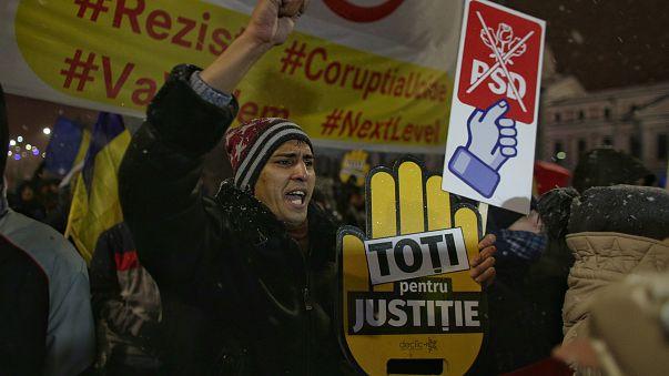 Mobilisation anti-corruption en Roumanie
