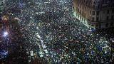 Protest gegen Justizreform in Rumänien