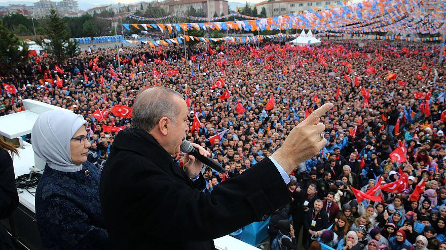 إردوغان: سنقضي على الأحزاب الكردية السياسية والعسكرية