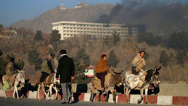 Afganistan'da otele saldırı: Onlarca ölü ve yaralı