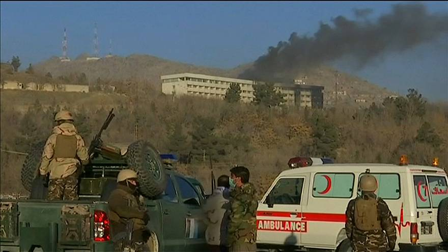 Mindestens neun Tote bei Angriff auf Hotel in Kabul