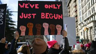 ABD: 'Kadınlar Yürüyüşü' için yüz binler sokağa indi