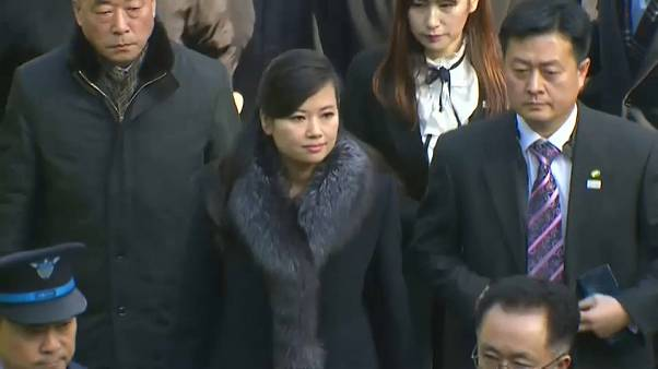 North Korean pop icon Hyon Song-wol leads Olympics diplomatic delegation to  South Korea | Euronews