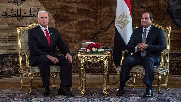 Pence: ABD iki devletli çözümü destekliyor