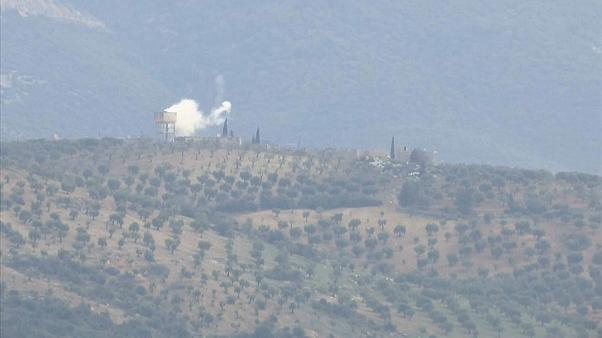 Missiles fired from Syria hit two Turkish border towns